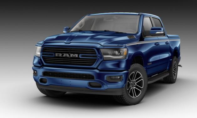 Винтернете появилась информация о«заряженном» пикапе Ram 1500