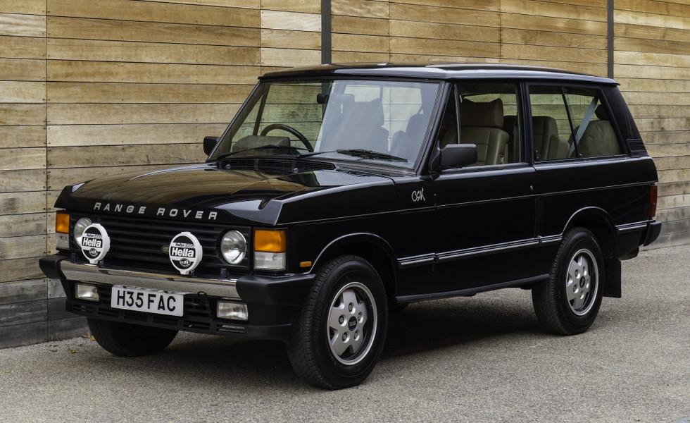УRange Rover появится купе-кроссовер