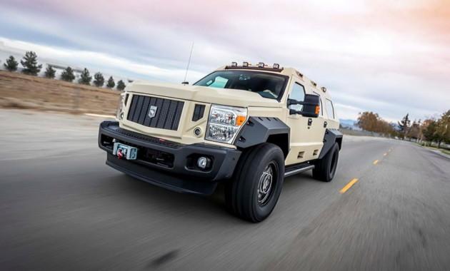 USSV представил  спецверсию брутального внедорожника Rhino GX Executive