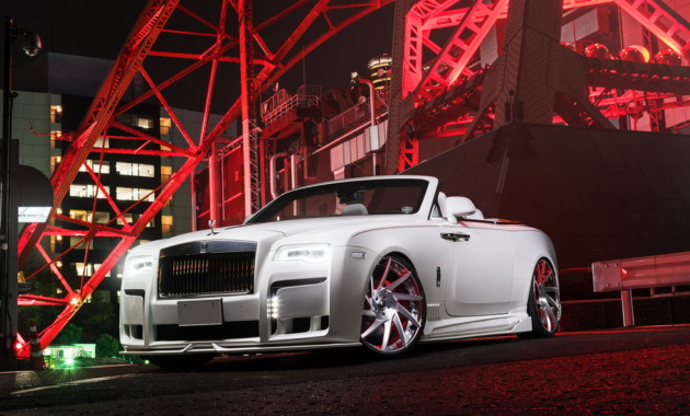 Мода по-японски: Rolls-Royce Dawn получил аэрокит от Wald International