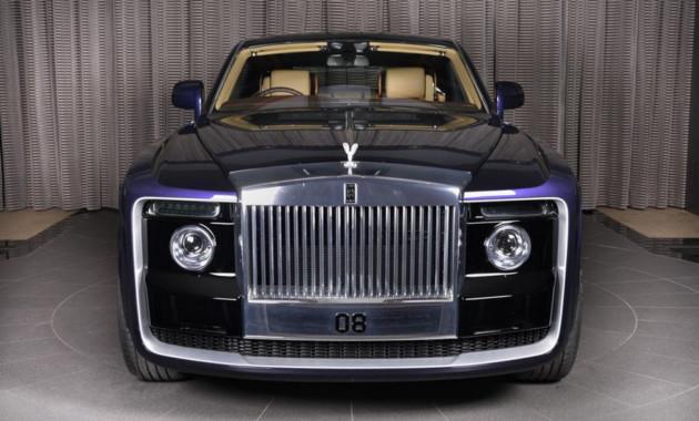 Вшоу-руме Роллс Ройс появился автомобиль Sweptail за13 млн долларов