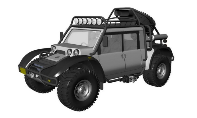 SCG анонсировала утилитарный Boot для покорения вулкана