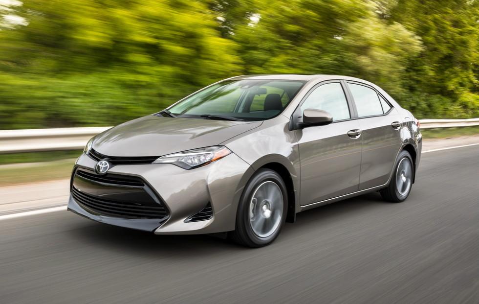 Toyota Corolla 2017 для Североамериканского рынка