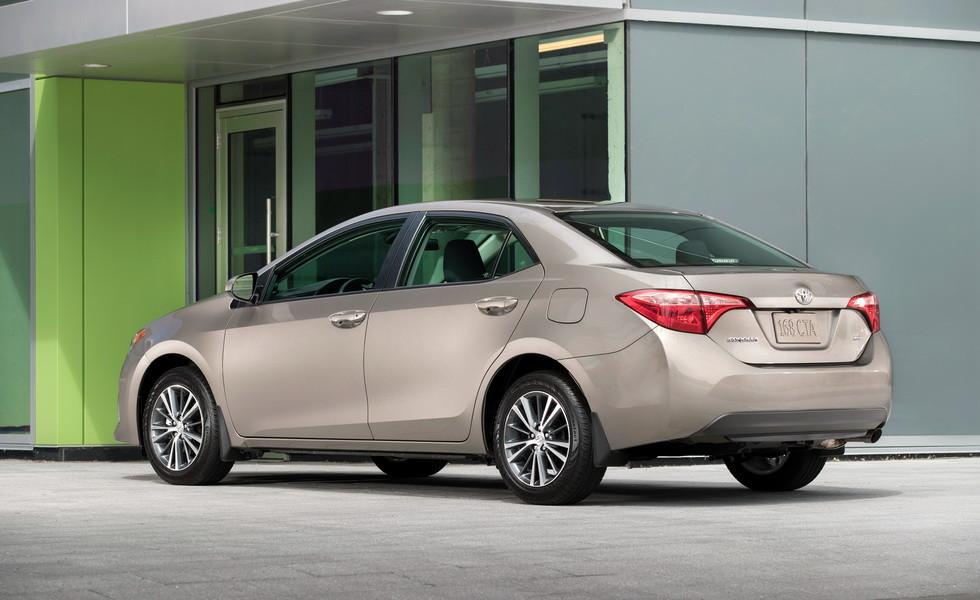 Toyota Corolla 2020 в камуфляже впервые засечена в США