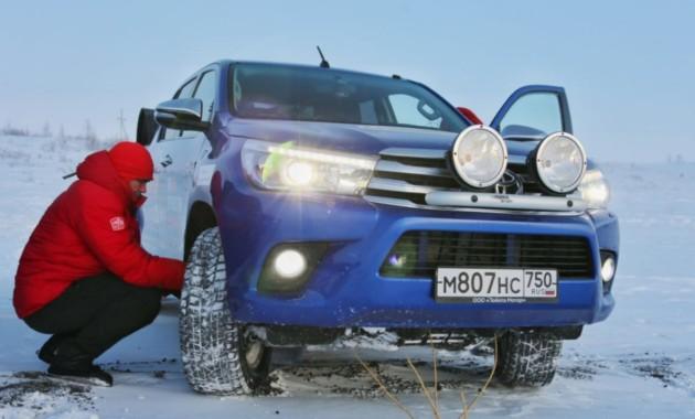 Toyota Hilux попал в книгу рекордов Гиннесса