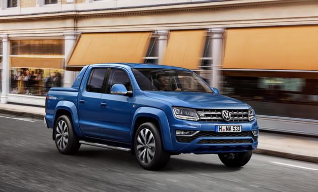 VW снова попробует вывести пикап Amarok на рынок Америки