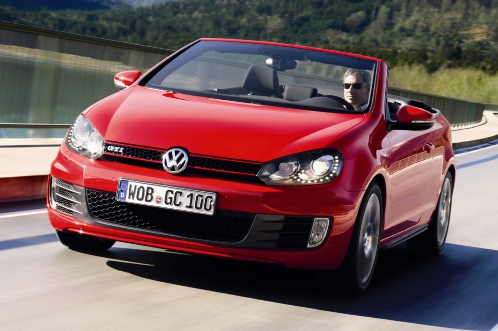 Volkswagen Golf GTI Cabriolet (Typ 5K) '2012–15