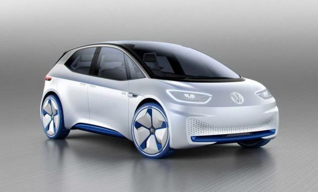 Навсе 100% электрическую модель VolkswagenID выпустят в 2019г