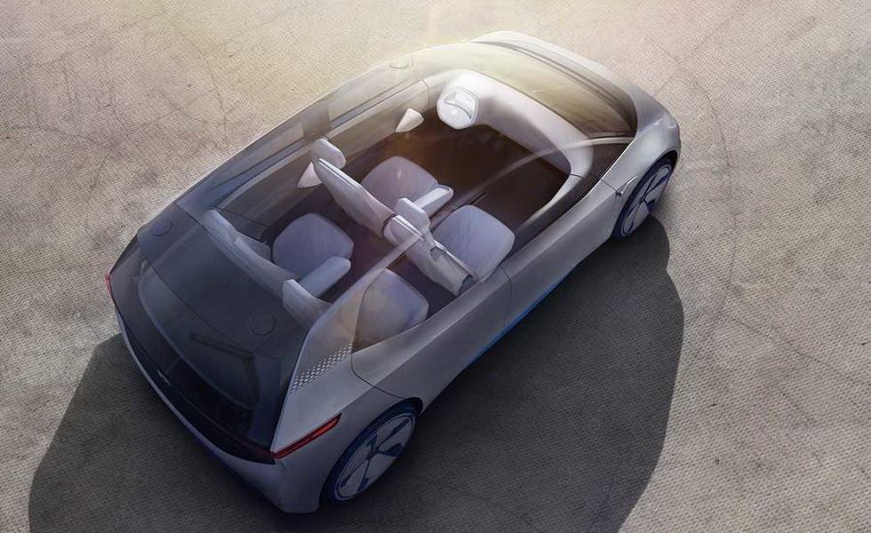 VW начнёт выпуск электромобиля I.D. в следующем году