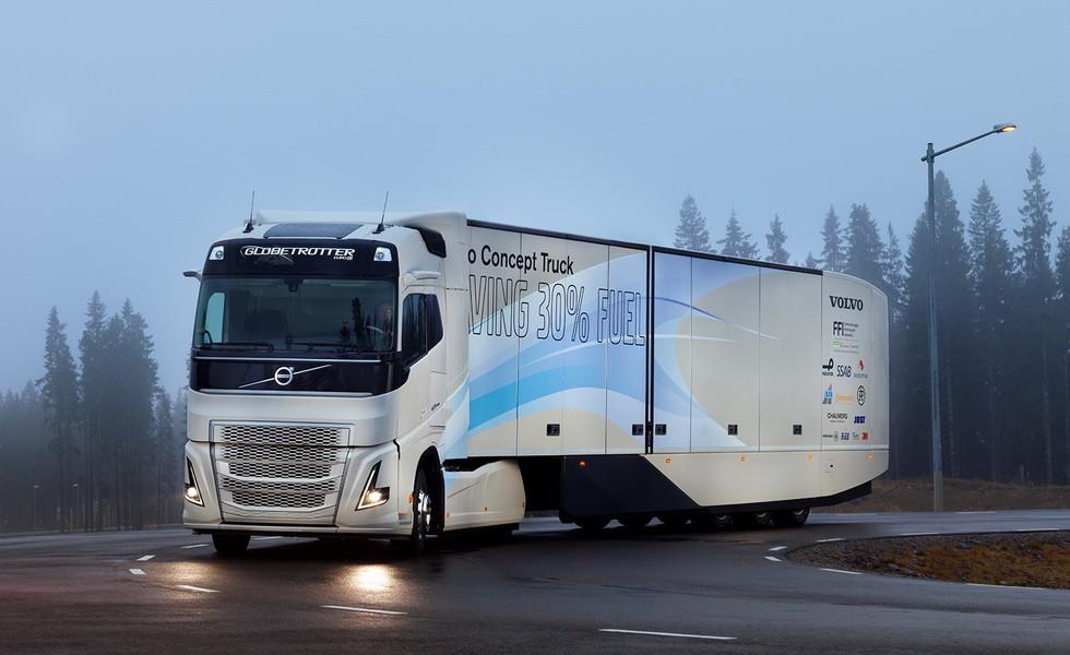 Электрогрузовики Volvo выйдут на рынок в 2019 году