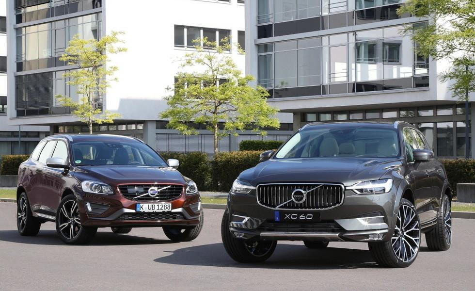Два поколения Volvo XC60