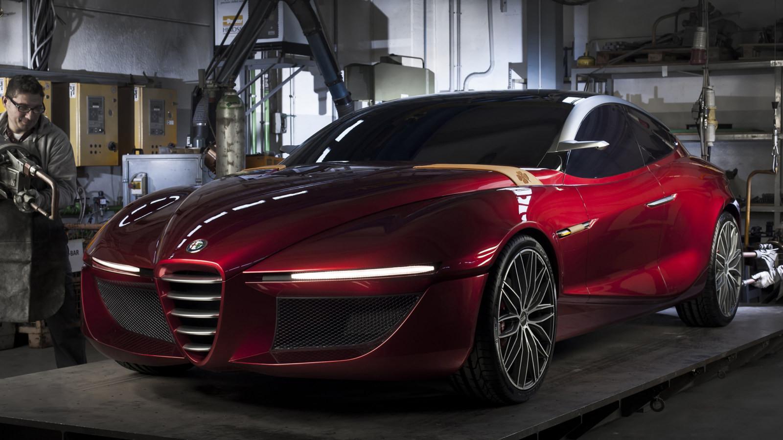 Новый тип спорткара Альфа Ромео 6C выйдет в 2020