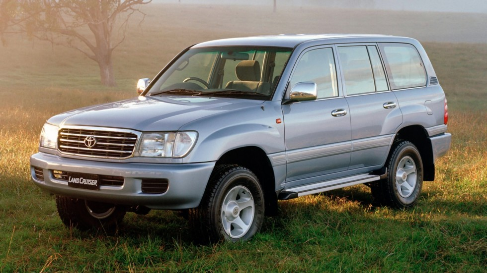 2002 Toyota LandCruiser 100 Series Advantage Limited Edition. 020506-104-7