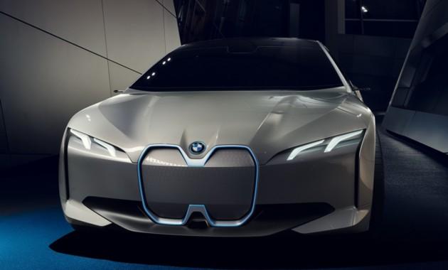 В БМВ хотят сделать конкурента Tesla— Электрокар iNext