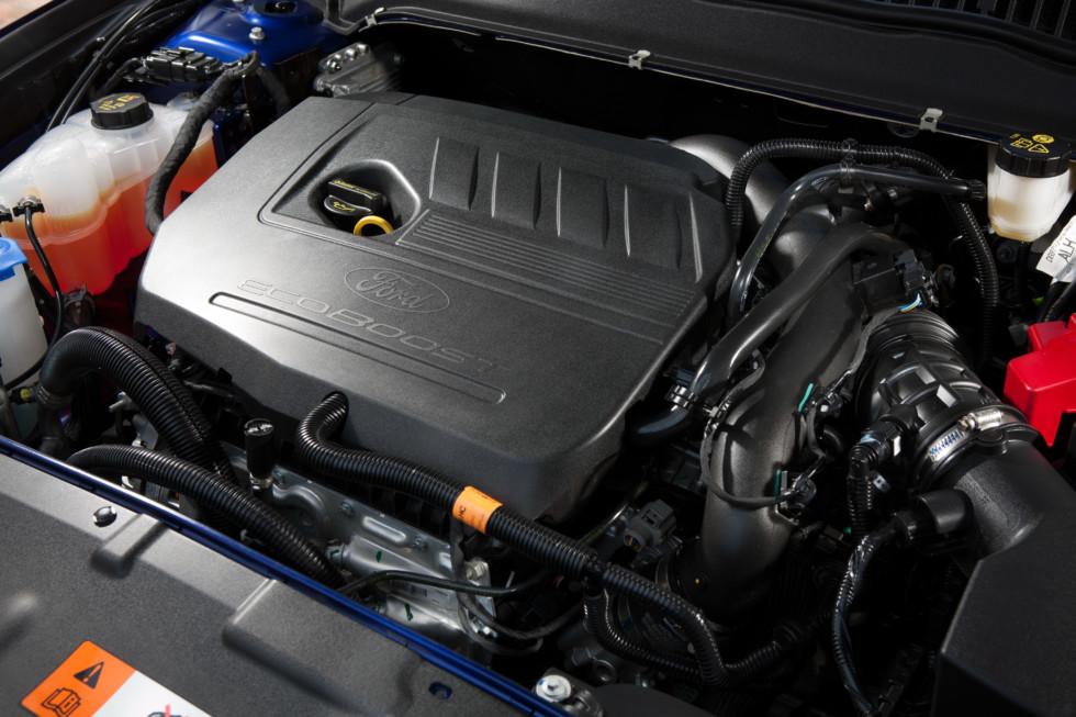 На фото: двигатель Ford EcoBoost объёмом в 1,5 литра