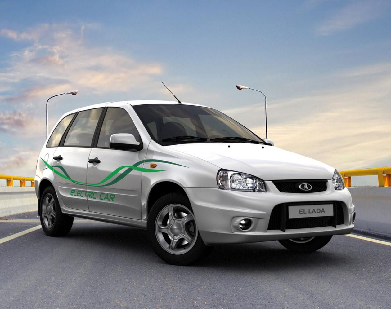 Электрическая Lada стоит больше миллиона рублей