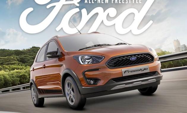 Форд представил новый бюджетный кроссовер Freestyle