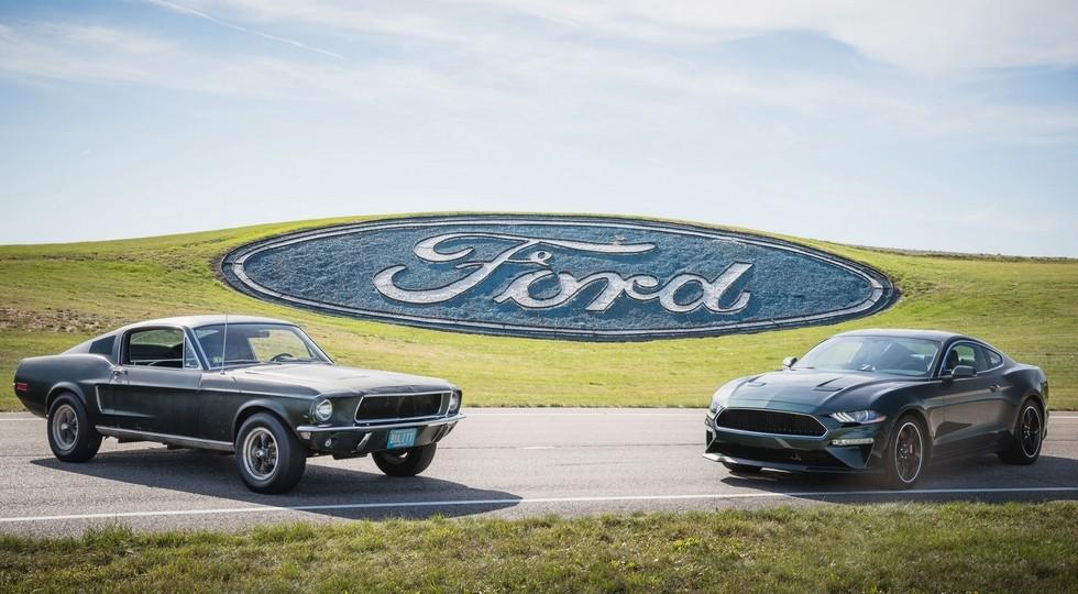 На автомобильном салоне вДетройте дебютировал Форд Mustang Bullitt