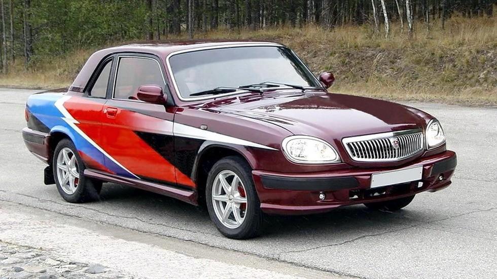 Двухдверное купе на базе ГАЗ-31105 было изготовлено в единственном экземпляре