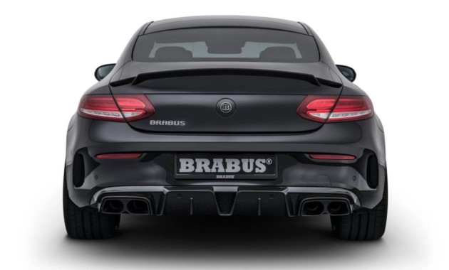 Тюнеры из Brabus «прокачали» купе Mercedes-AMG C63 S Coupe