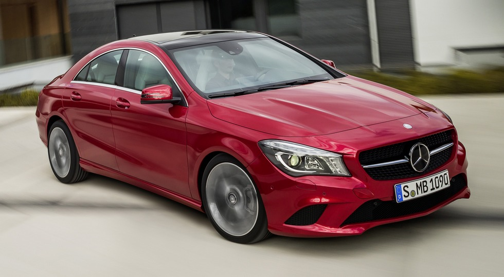На фото: Mercedes-Benz CLA-Class'2013–16