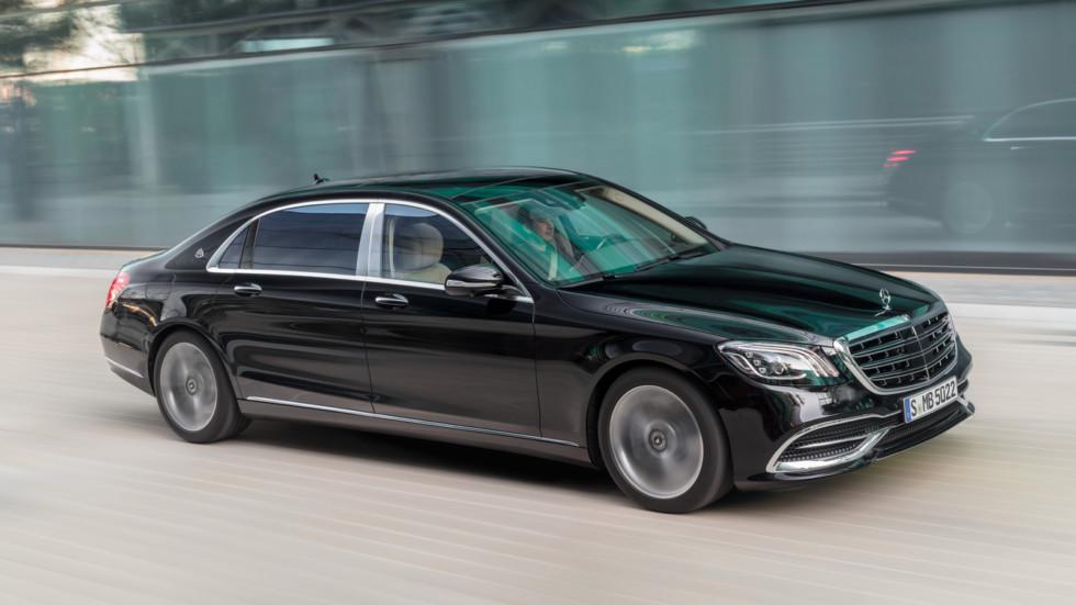 На фото: Mercedes-Maybach S-Class