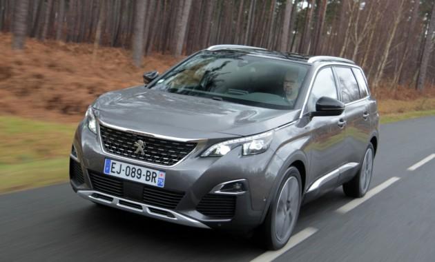 Прайс-лист нового Peugeot 5008 для России