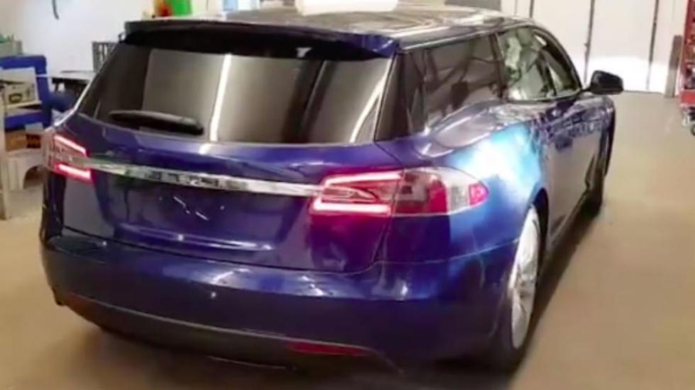 Электрокар Tesla Model Sсделали быстрейшим вмире универсалом