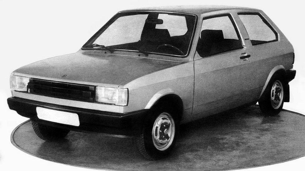 К 1977 году форма кузова будущей «восьмерки» уже была найдена
