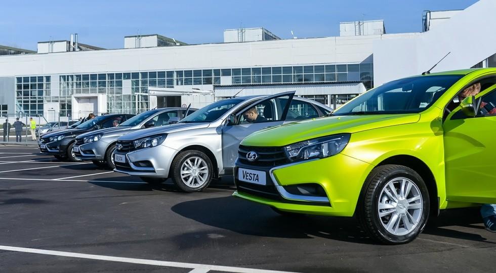 22 компании изменили цены наавтомобили вРФ запоследний месяц