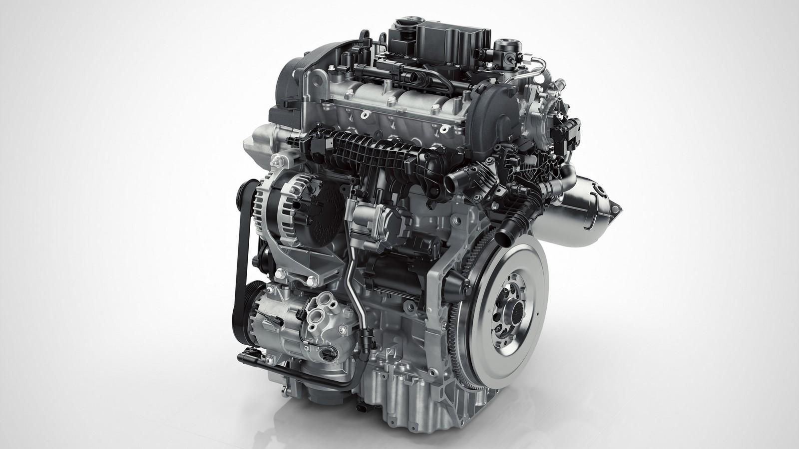 Вольво представила свой 1-ый 3-х цилиндровый мотор