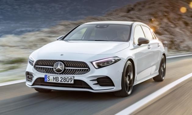 Официально представлен Mercedes Benz A-Class нового поколения