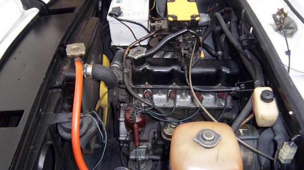 Нижневальный мотор устанавливался на различные модификации Fiat 124