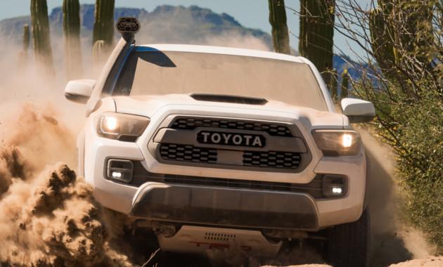 Тойота подготовила несколько собственных моделей для бездорожья