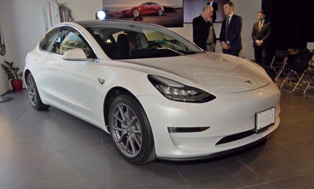 В столице России  состоялась презентация «народного» электромобиля Tesla Model 3