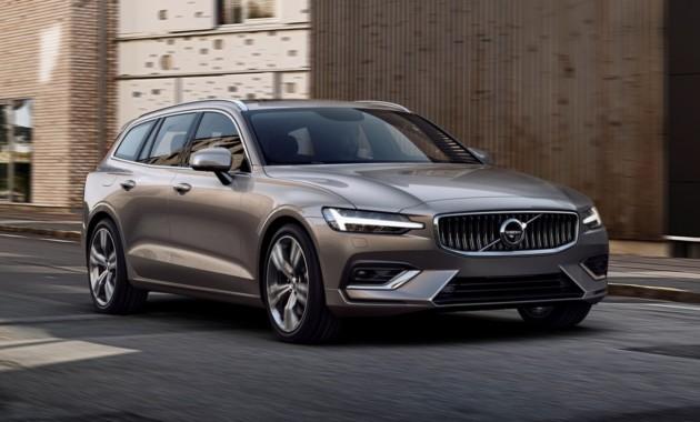 Volvo рассекретил универсал V60 нового поколения