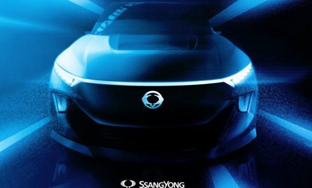 Вот таким будет следующий Сан Ёнг Actyon— Светодиоды и электродвигатель