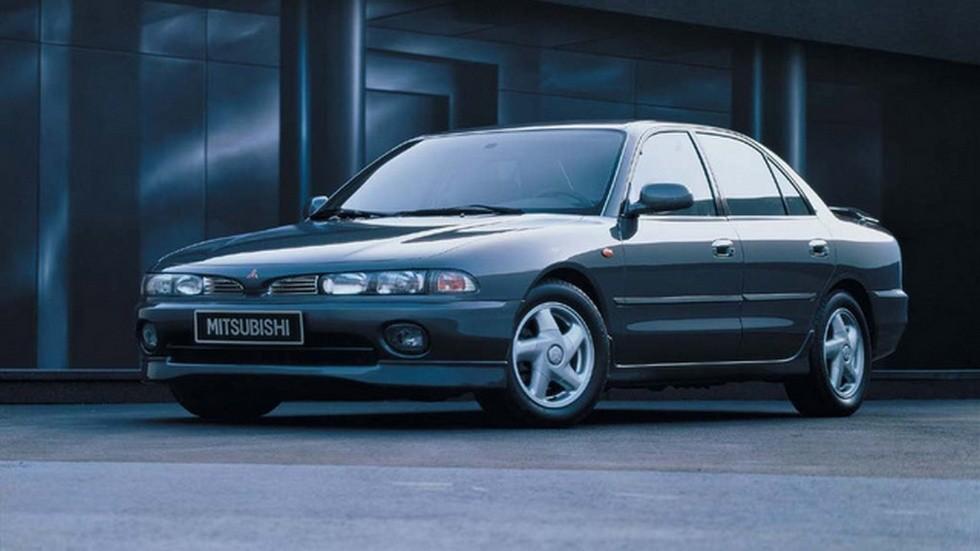 На фото: Mitsubishi Galant '1992–96