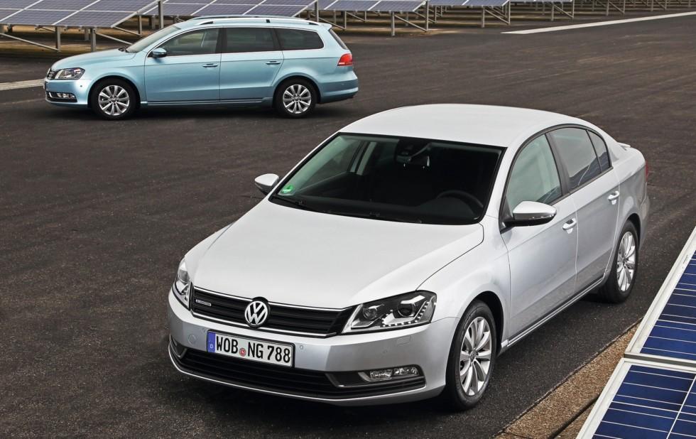 На фото: Volkswagen Passat '2010–14