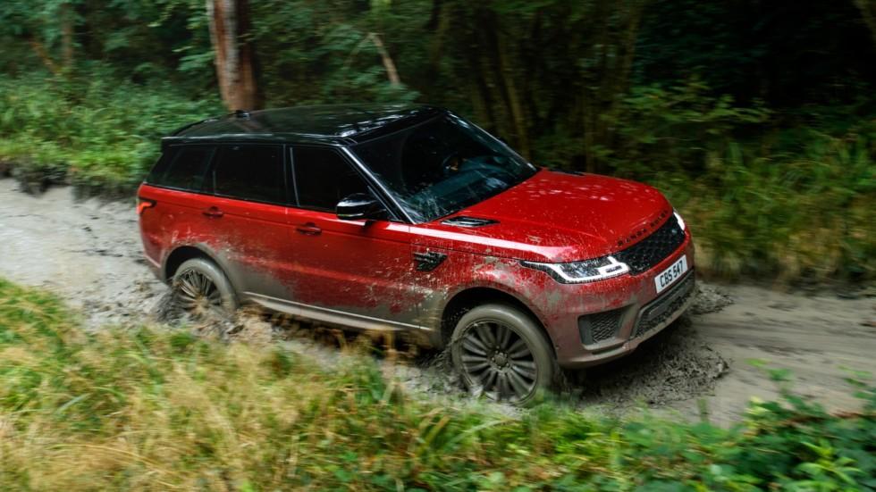На фото: Range Rover Sport '2017–н.в.