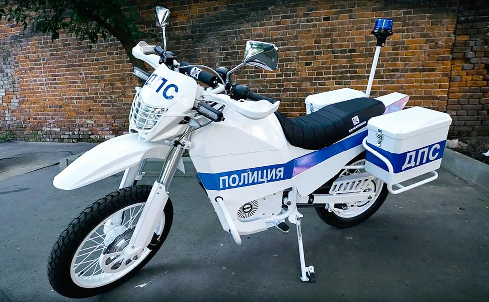 «Калашников» поставит оборонному ведомствуРФ электрические мотоциклы