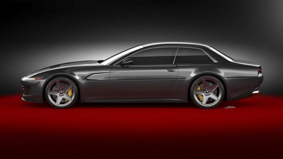 Ares Design планирует возродить четырехместный Ferrari 412