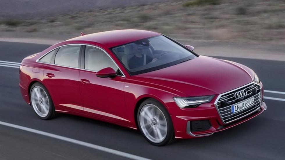 В Сети рассекретили новую Audi A6 на «официальных» фотографиях