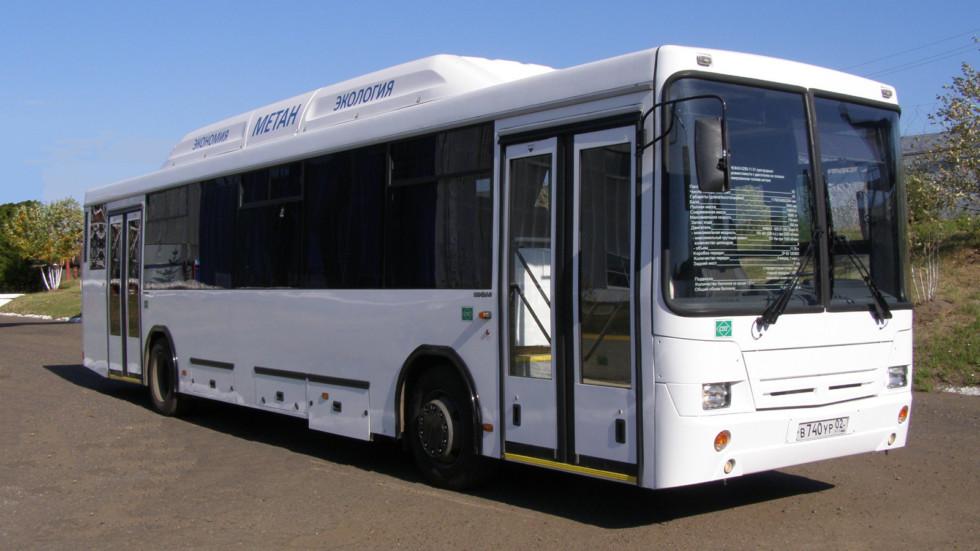В Вологду уехала партия газовых автобусов НЕФАЗ