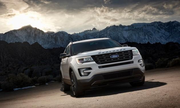 "Ford выкатил на тесты ""заряженный"" кроссовер Explorer ST"