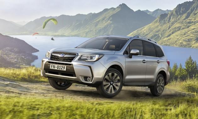 Объявлены итоги продаж Subaru в РФ по итогам января 2018 года