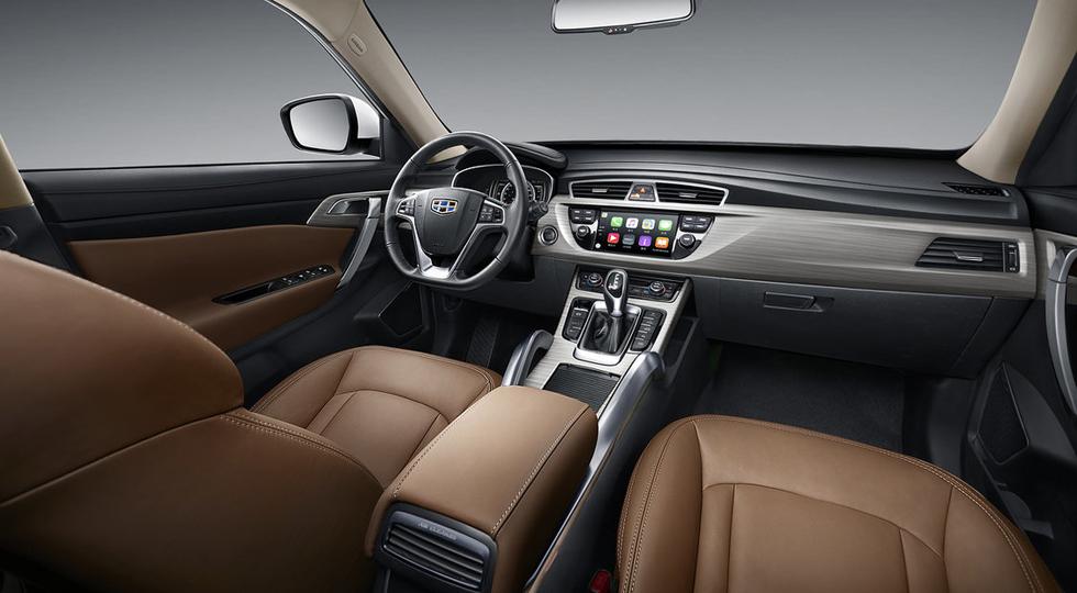 GEELY NEW SUV-Interior 05 -Great interior rear right
