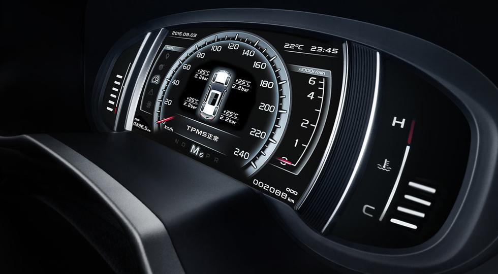 GEELY NEW SUV-Interior 28