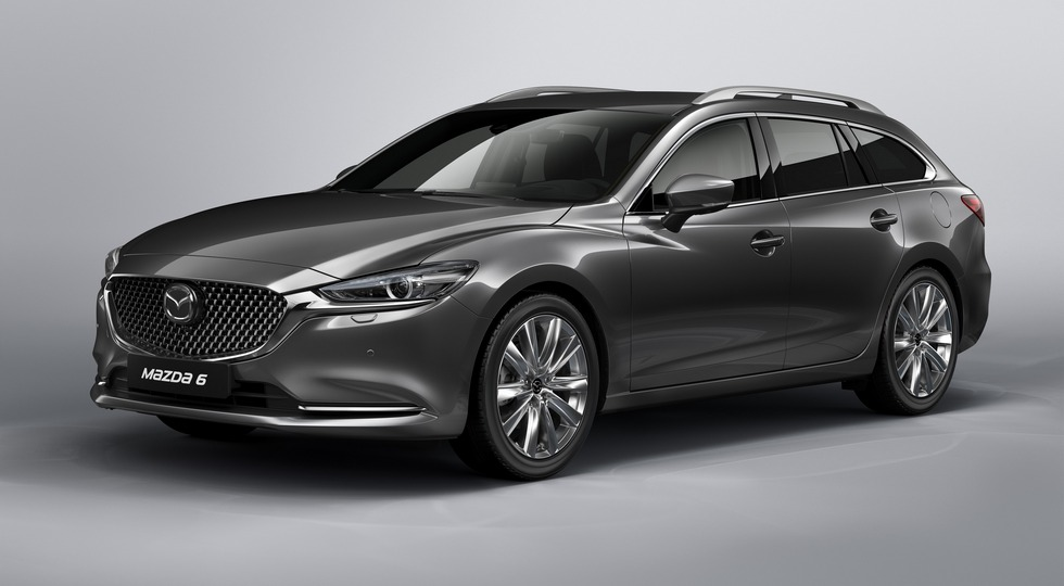 Geneva Motor Show 2018, New Mazda6 1