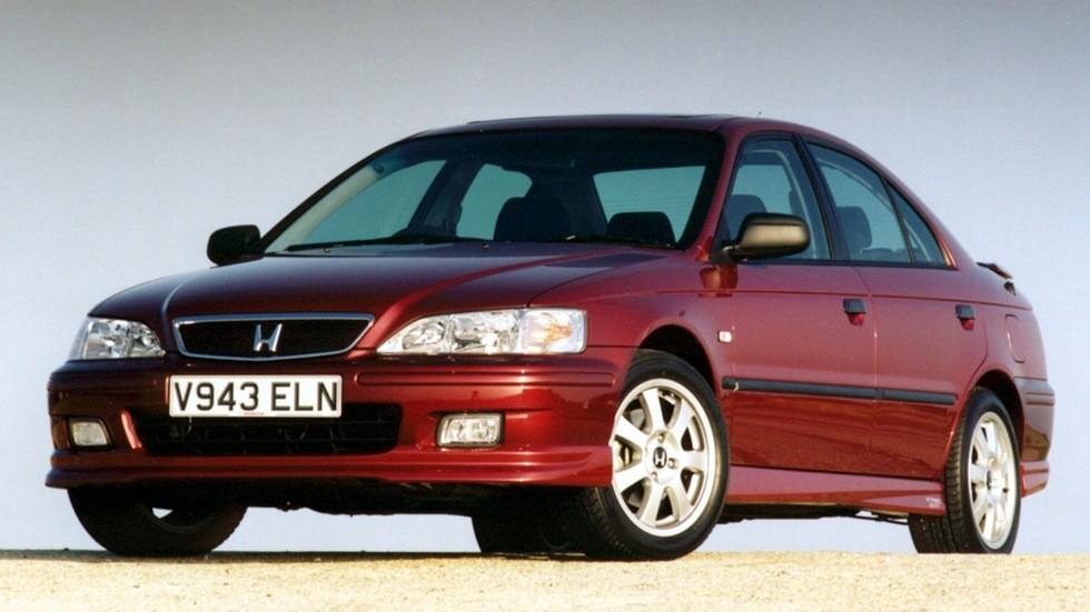 На фото: Honda Accord Sedan VTEC SE Sport '1999–2002